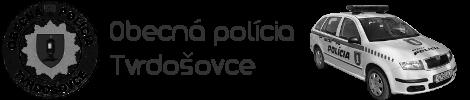 Obecná polícia Tvrdošovce logo